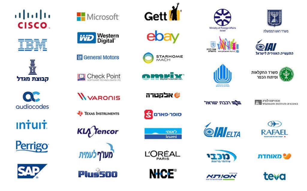 הלקוחות שלנו - לוגויים